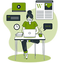 content creation services for websites