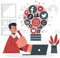 managed social media marketing